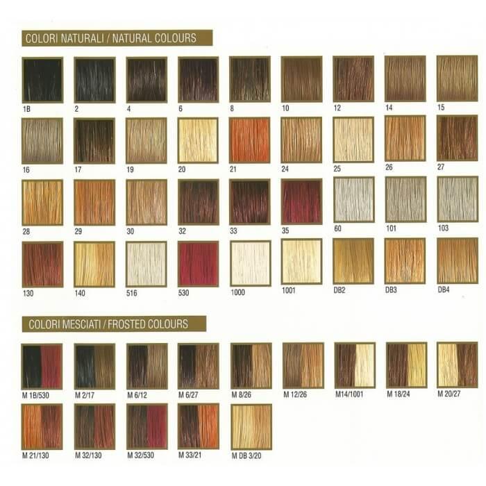 Ren e blanche cartella colori sanotint light tabella colori for Colori sanotint light