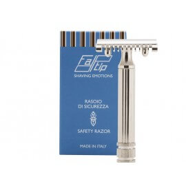 Rasoio Fatip Nickel Classic - Manico Grande