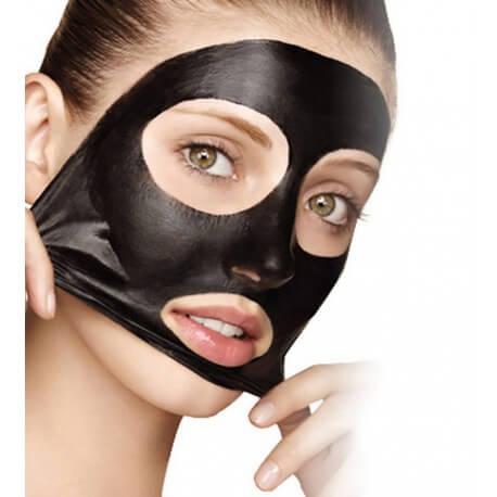 suolo Argento .  The Black Mask - Maschera nera al Carbone Vegetale