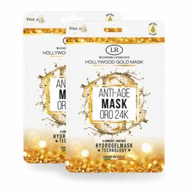 Maschera Viso Oro 24K - Hollywood Gold Mask