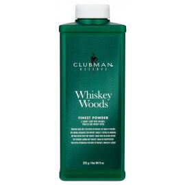 ClubMan Pinaud Whiskey Woods Natural Talc