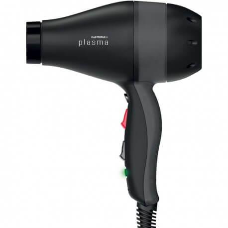 Asciugacapelli Gamma Più Plasma Nero/Nero