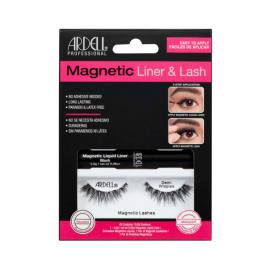 Ardell Ciglia Magnetiche + Eyeliner Liquido - Demi Wispies