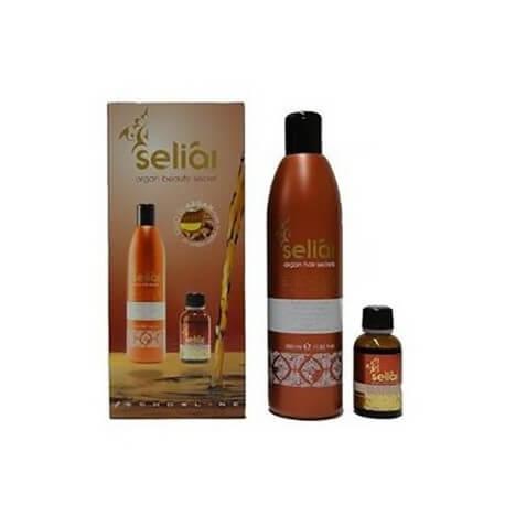 Echos Line Seliár Shampoo + Fluido di Bellezza all'Olio di Argan