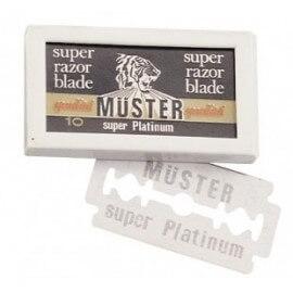 Lame Muster Super Platinum